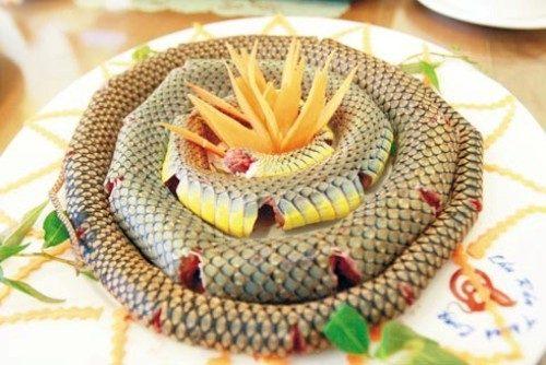 Mơ thấy thịt rắn
